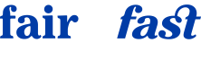 Fair and Fast House Buyers White Logo